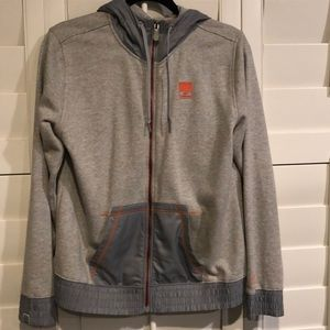 Woman's New Balance Zip Up Sweater